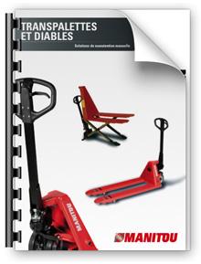 transpalette manuel manitou. Black Bedroom Furniture Sets. Home Design Ideas
